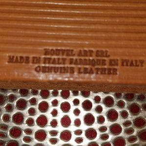 italian Office - LOVE notebook. Genuine Italian leather cover.